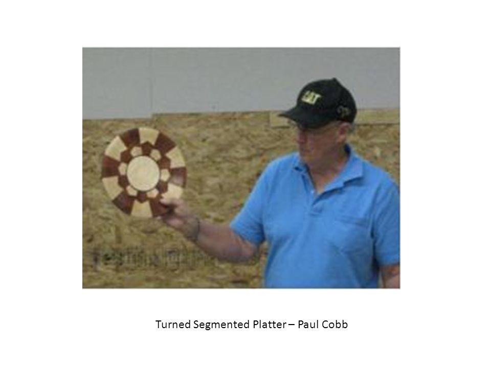 Turned Segmented Platter – Paul Cobb