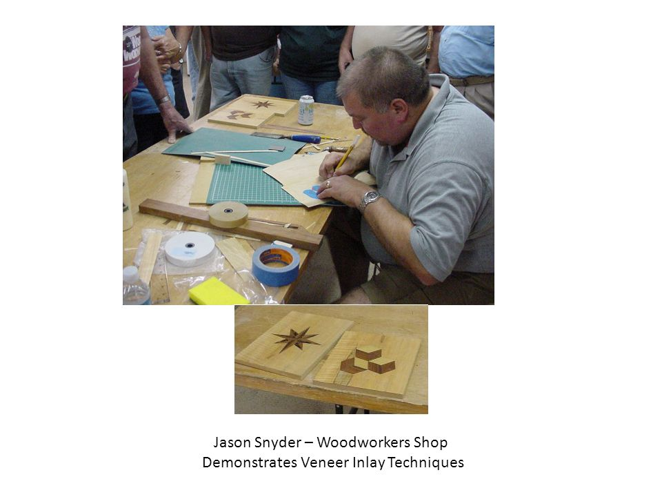 Jason Snyder – Woodworkers Shop Demonstrates Veneer Inlay Techniques