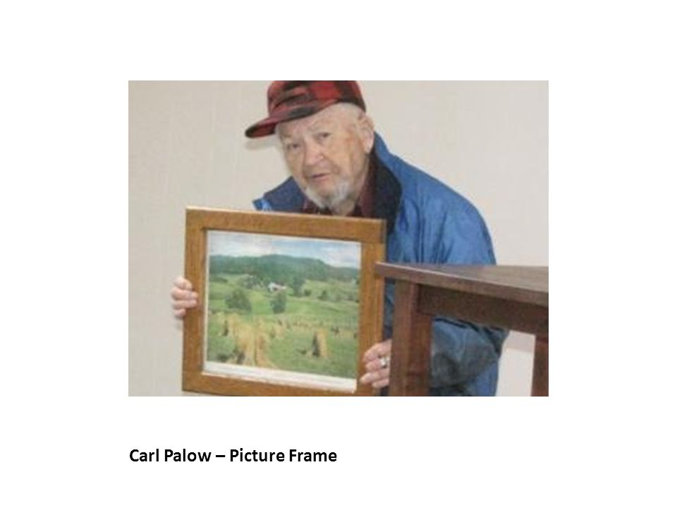 Carl Palow – Picture Frame
