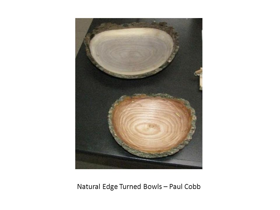 Natural Edge Turned Bowls – Paul Cobb
