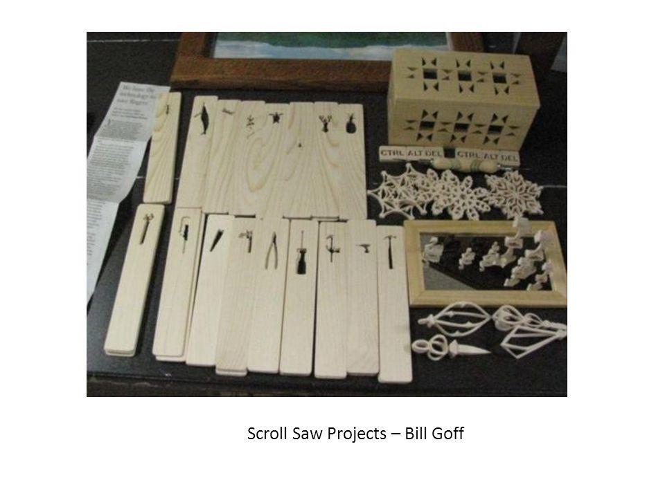 Scroll Saw Projects – Bill Goff