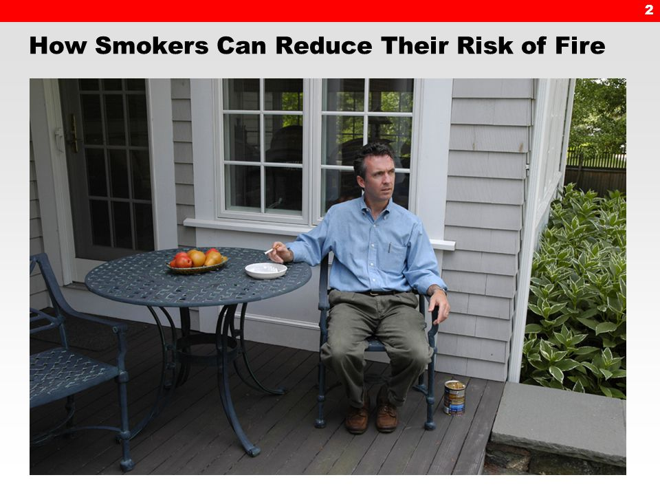 2 How Smokers Can Reduce Their Risk of Fire