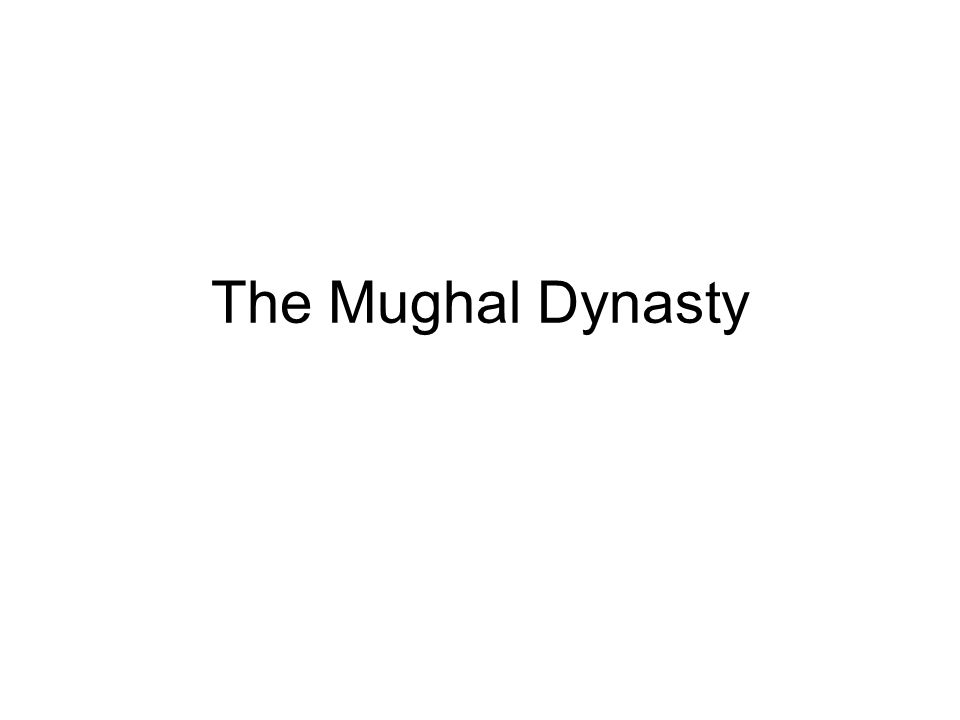 The Mughal Dynasty As the famine increased, men abandoned towns and villages and wandered helplessly.