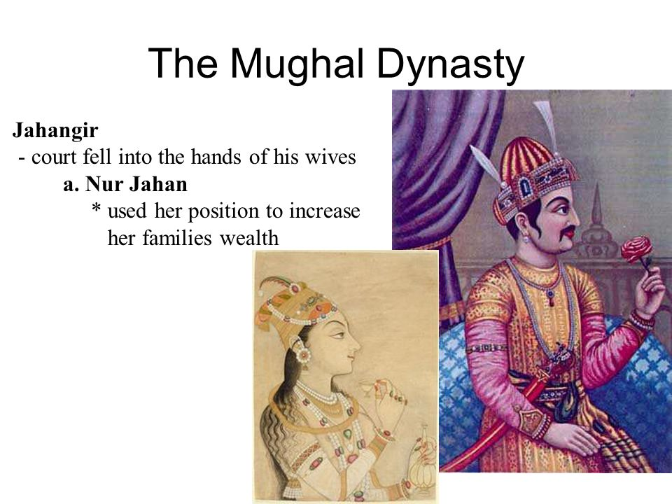 The Mughal Dynasty Tolerant Administration 1 high officials were Muslims 2. lower officials were Hindu 3. Zamindars (Local Officials) a. paid in land