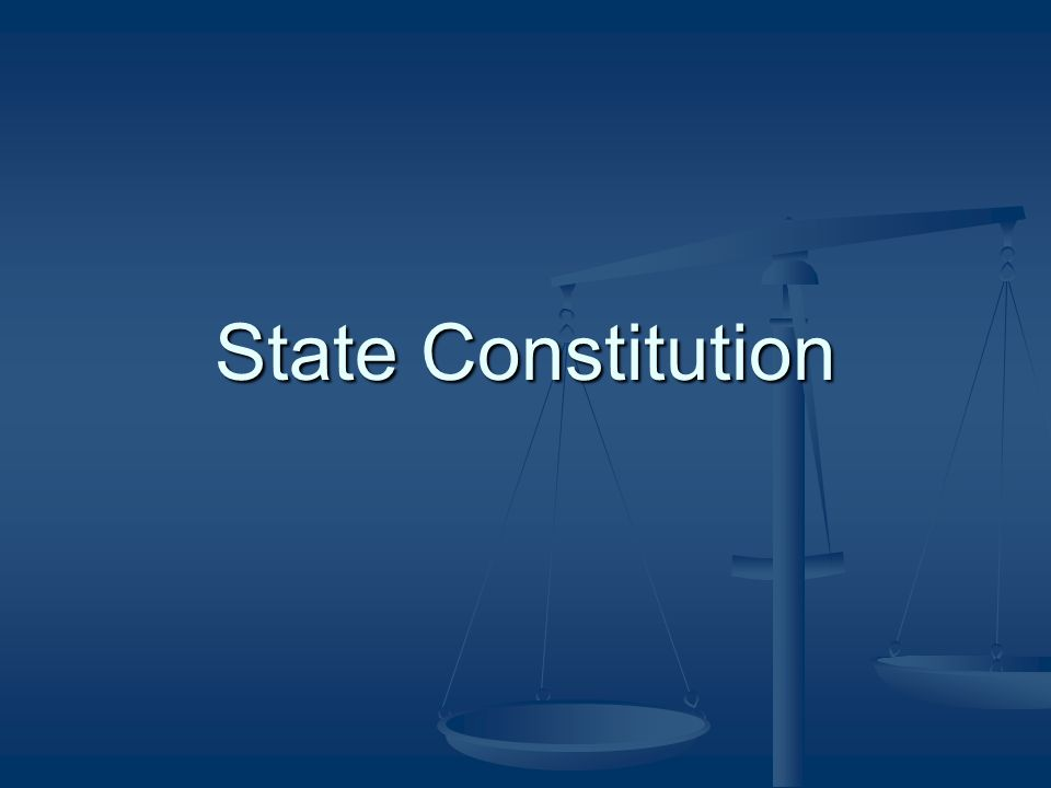 Roots of State Constitutions people of each state can create the type of government they wish (limitations of U.S.