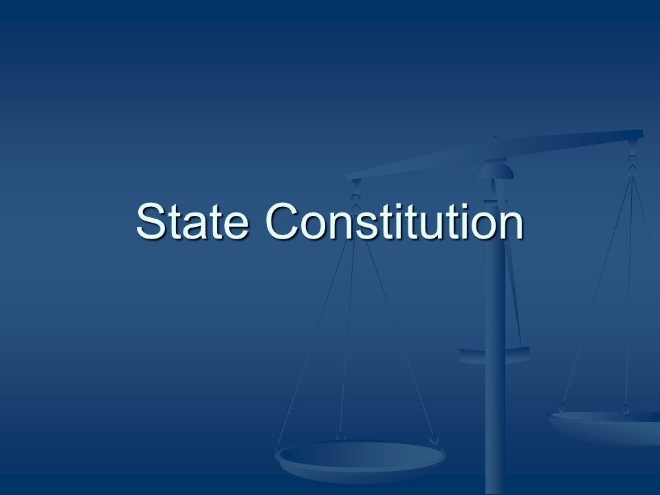 State Constitution