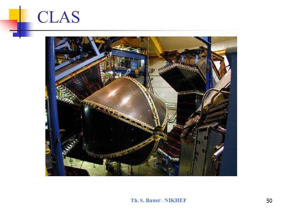 Th. S. Bauer - NIKHEF 50 CLAS