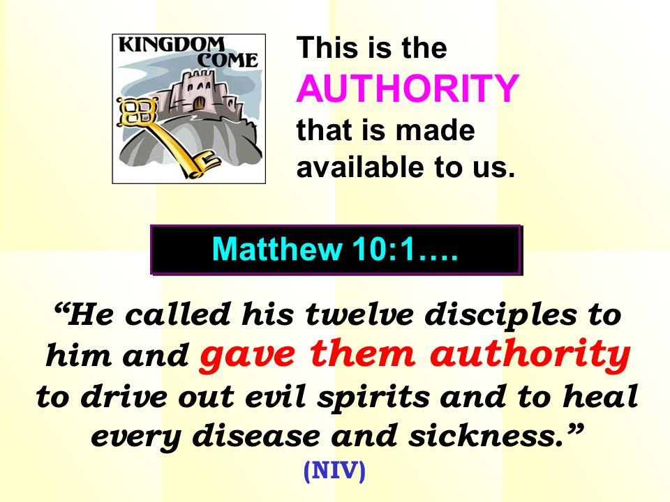 The people were astonished at Christ's authority. The people were astonished at Christ's authority.