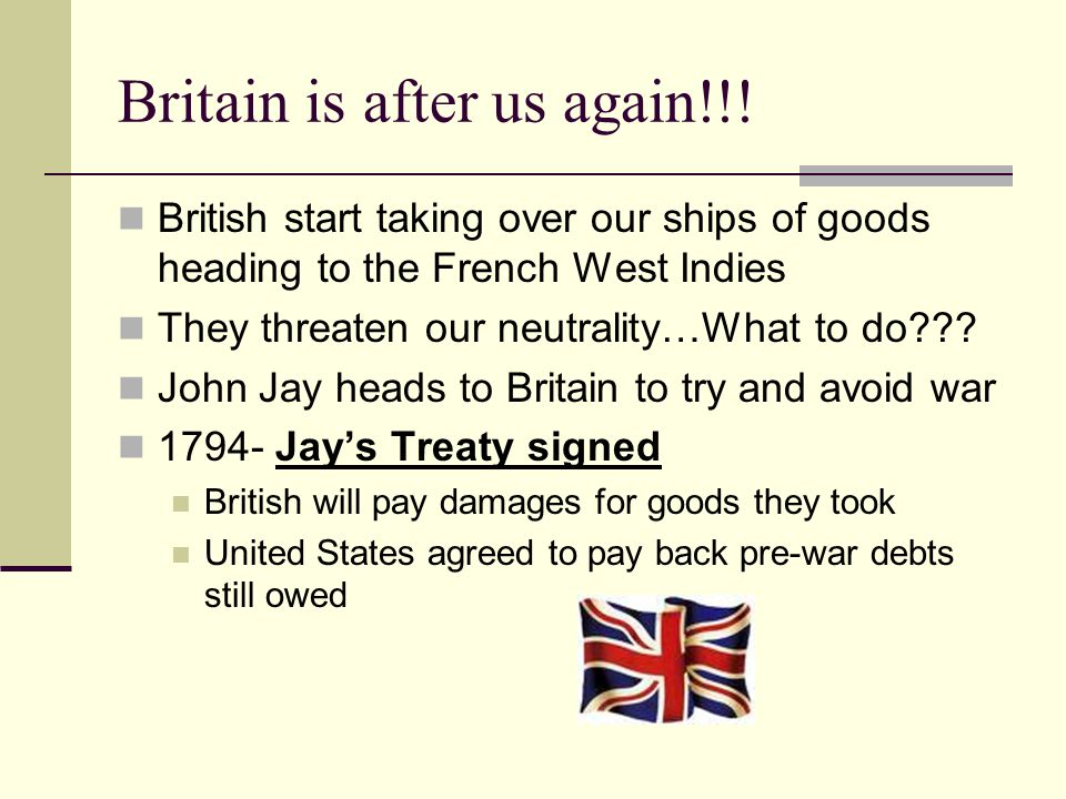 Britain is after us again!!.