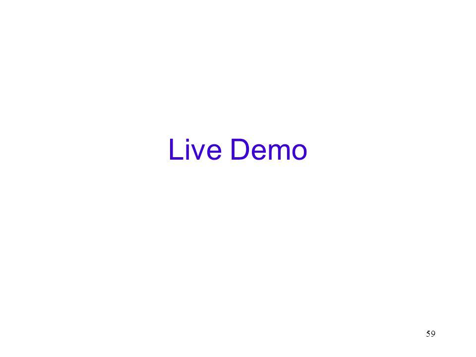 59 Live Demo