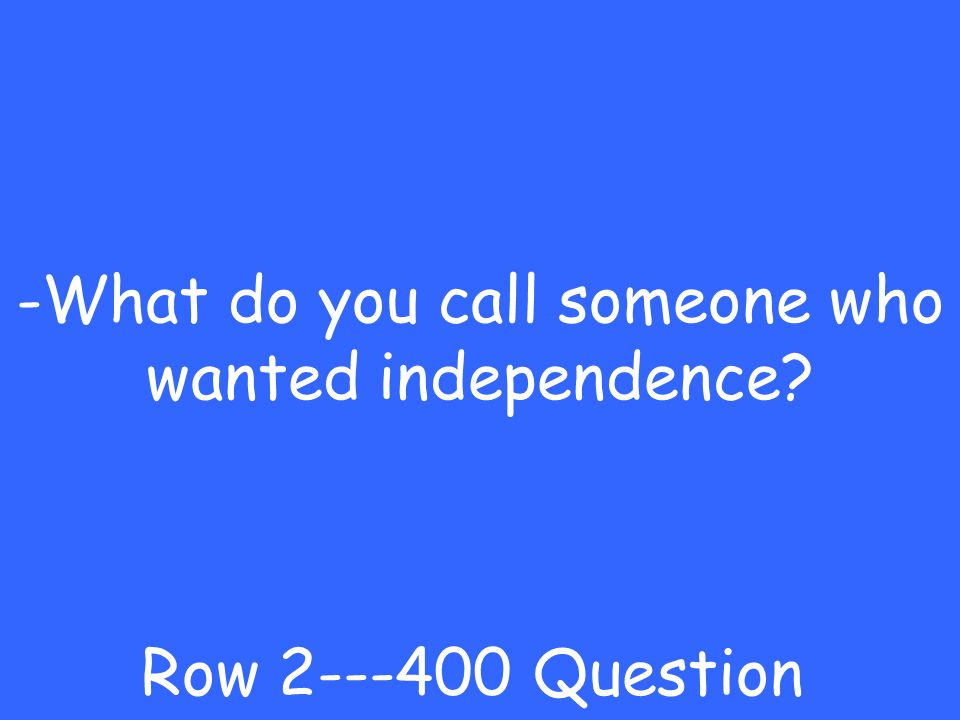 -Thomas Paine Row 2---300 Answer