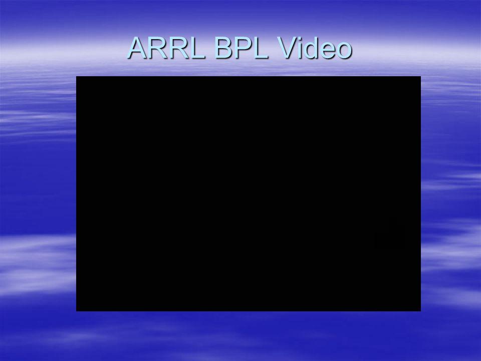 ARRL BPL Video