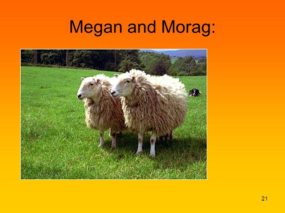Megan and Morag: 21