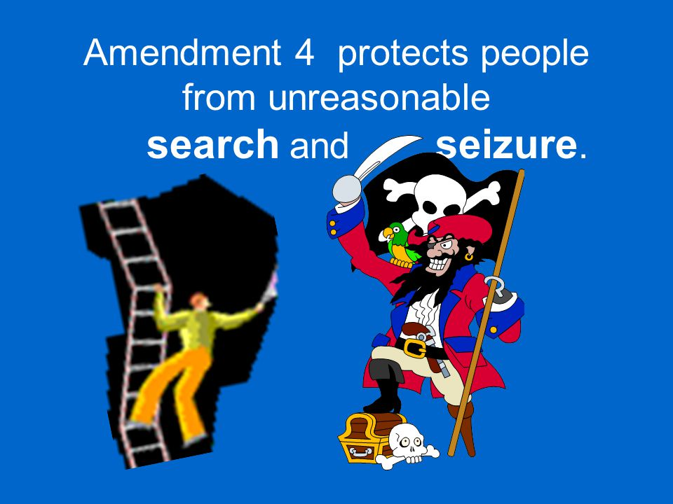 Amendment 5 gives a person the right to due process of law,