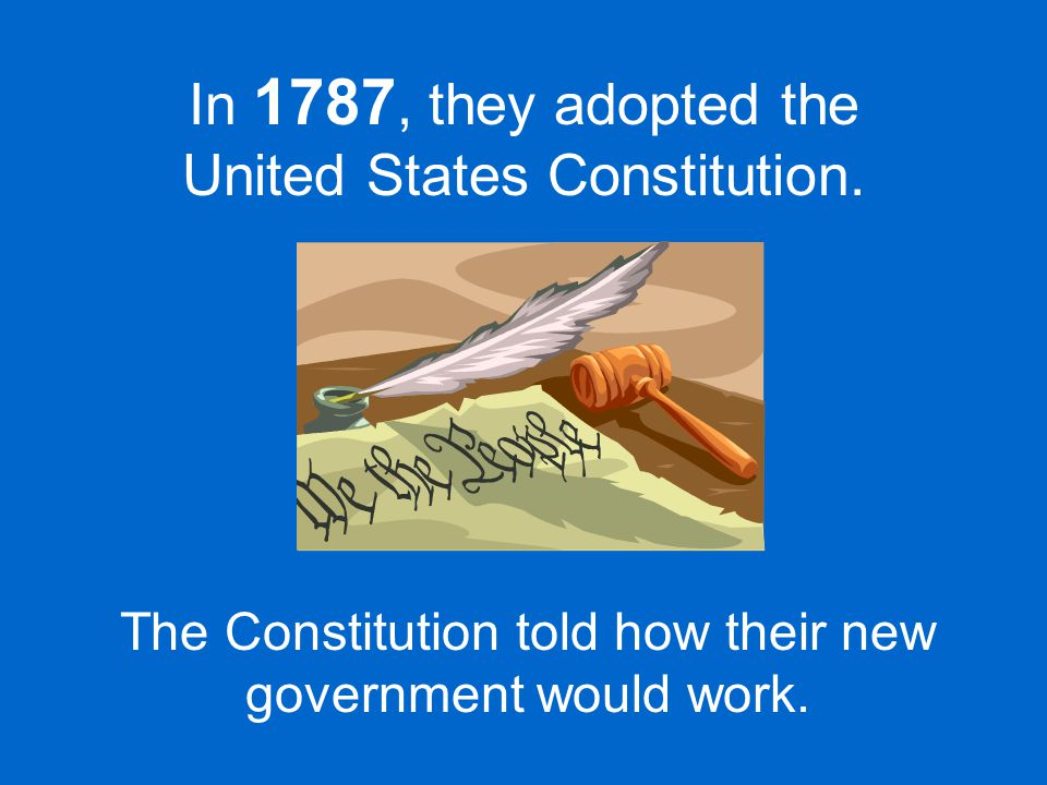 Some states still thought the Constitution did not say enough about the rights of the people.