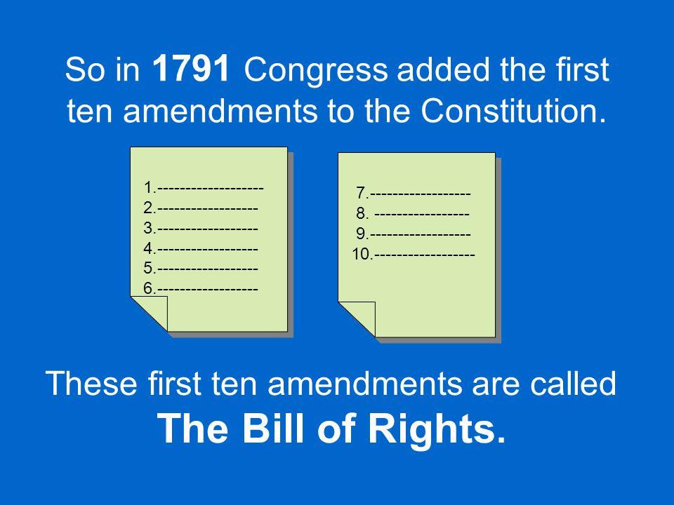 They are individual rights that the government cannot take away. NO!