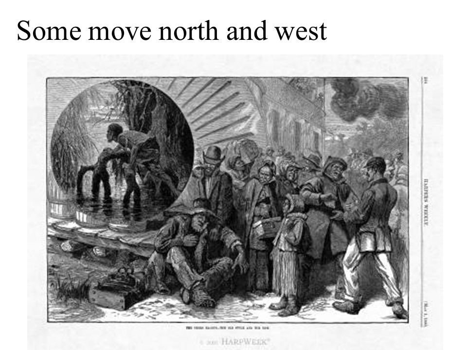 Some move north and west