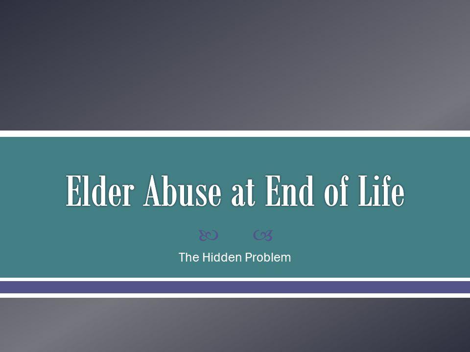  The Hidden Problem
