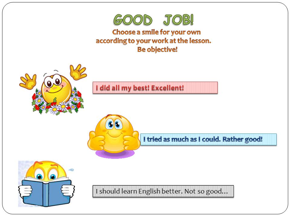 I should learn English better. Not so good…