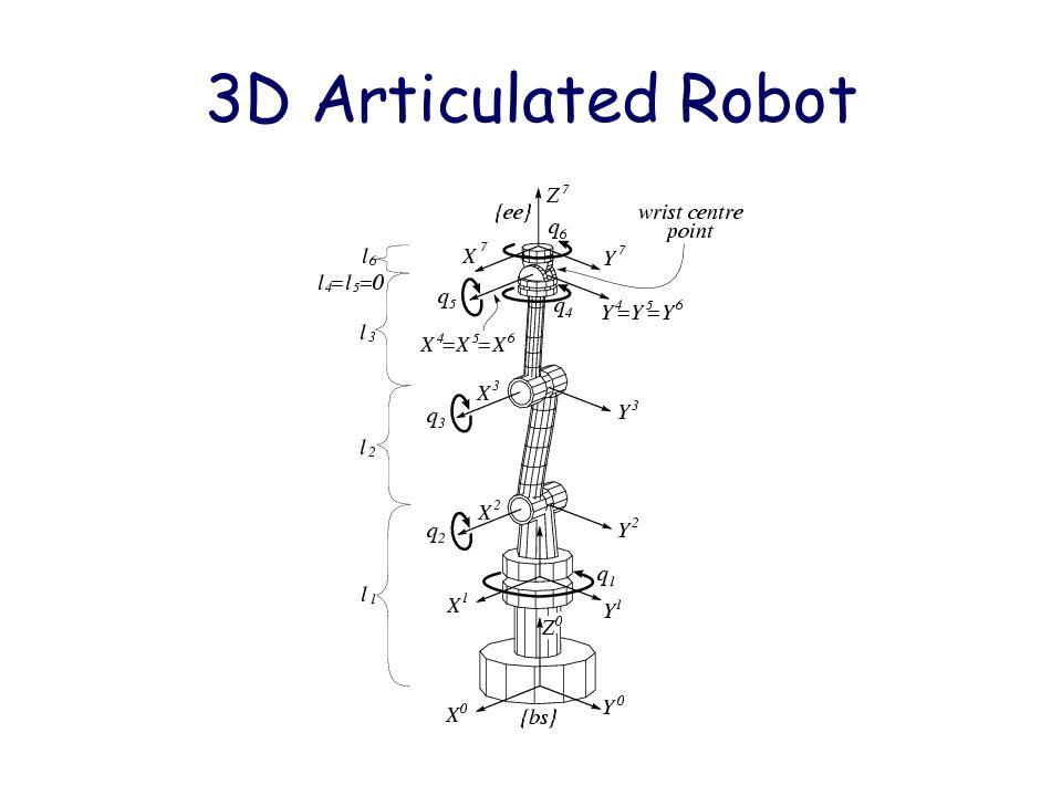 3D Articulated Robot
