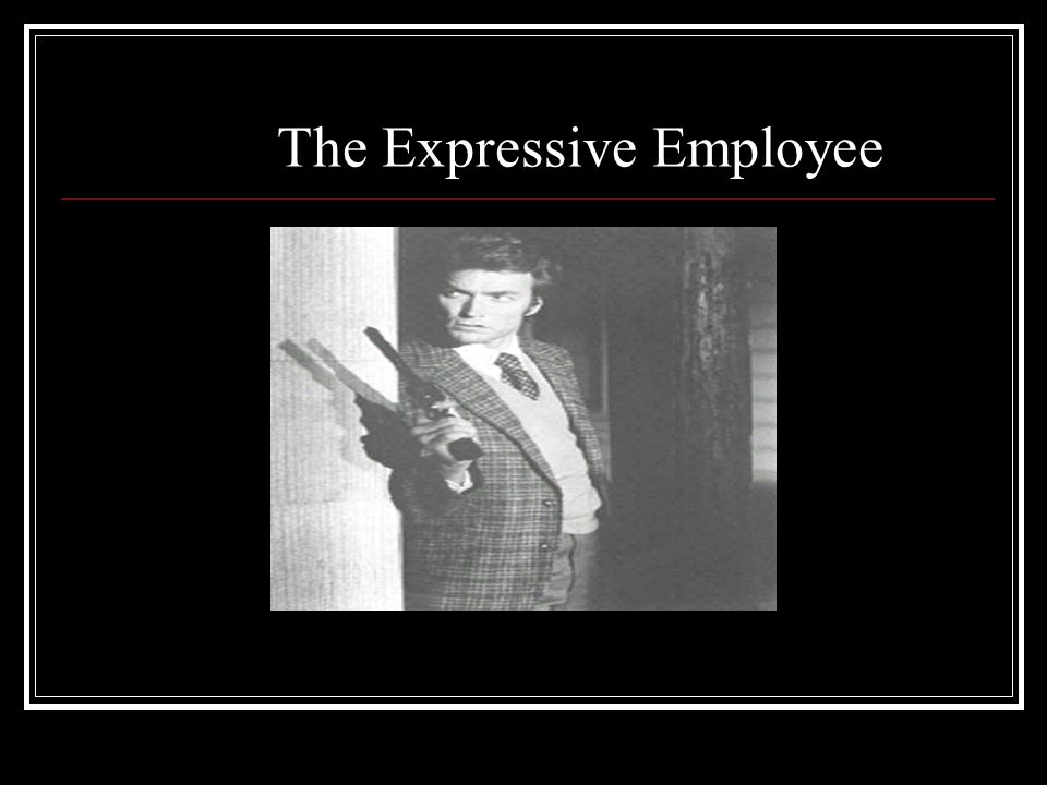 The Expressive Employee