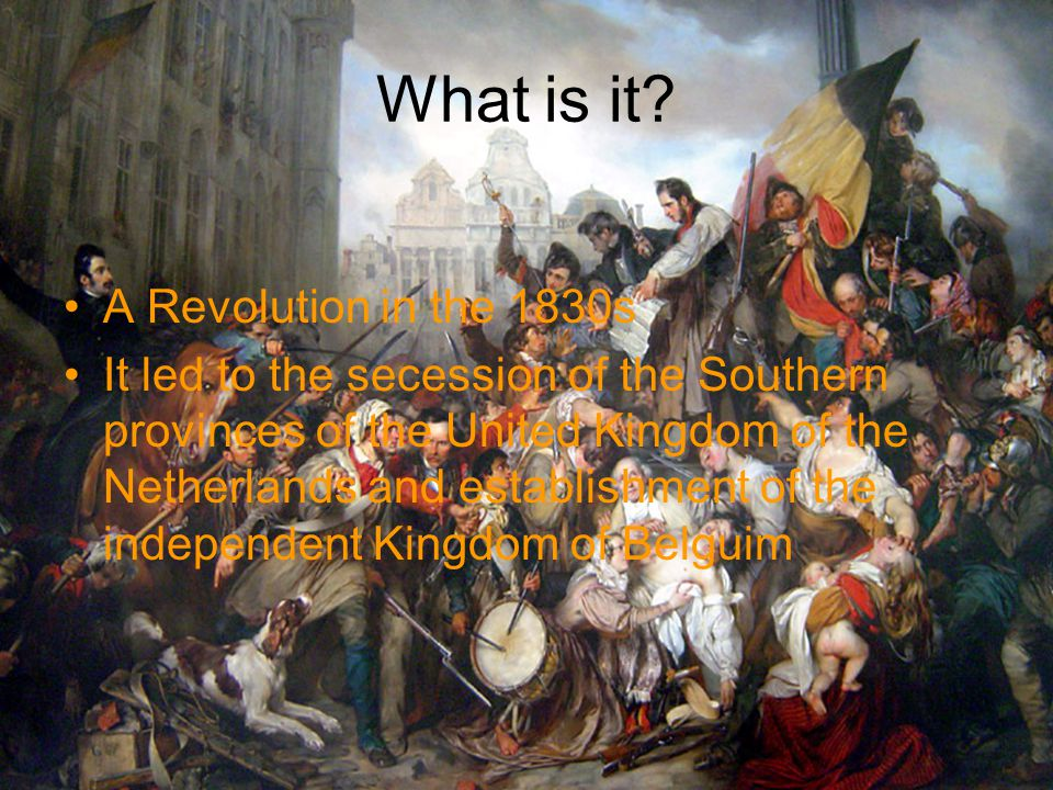 Revolutionary Leaders Maurice-Jean de Broglie – French nobleman, bishop of Ghent, STRONG hatred towards the house of Orange Prince William (King William II, later) – although it was against the family, he took the side of the Southern Provinces