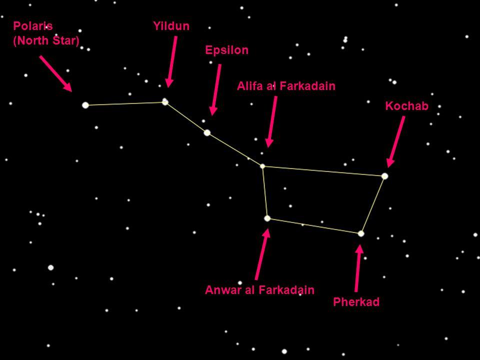 Polaris (North Star) Yildun Epsilon Alifa al Farkadain Kochab Pherkad Anwar al Farkadain