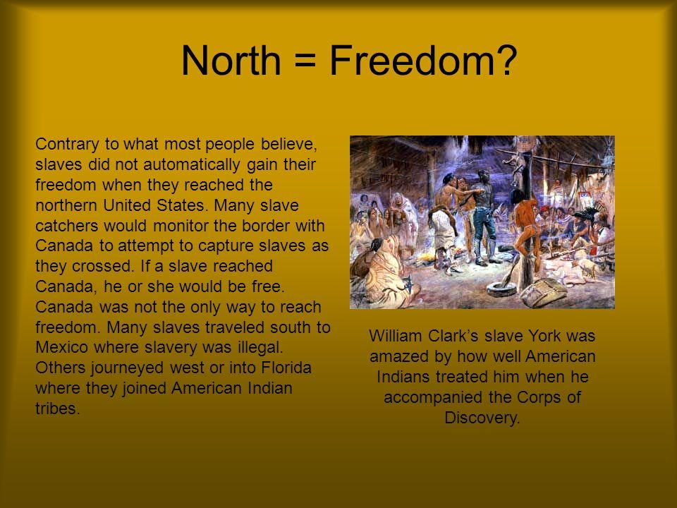 North = Freedom.