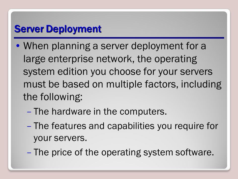 Windows Server 2008 Editions Windows Server 2008 Web Windows Server 2008 Standard Windows Server 2008 Enterprise Windows Server 2008 Datacenter