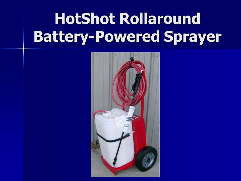 HotShot Rollaround Battery-Powered Sprayer