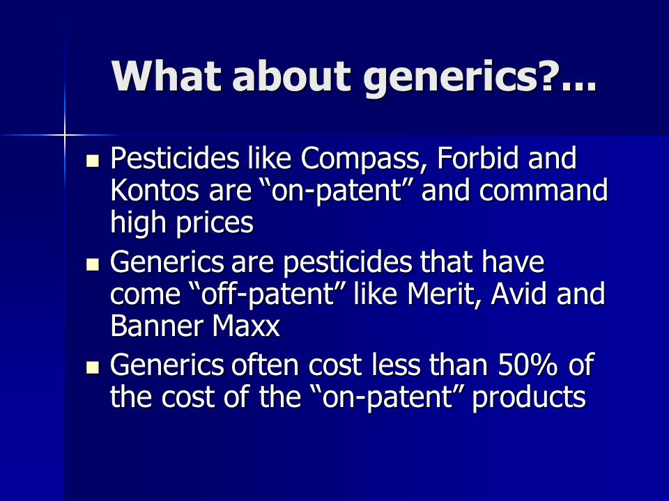 What about generics ...