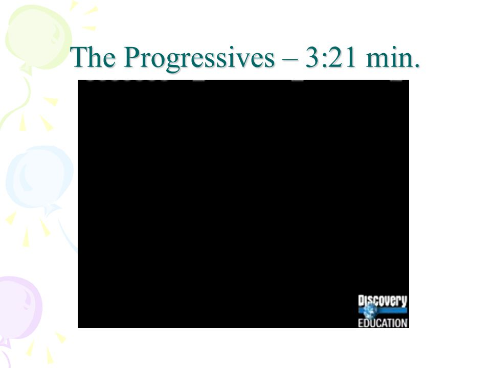 The Progressives – 3:21 min.