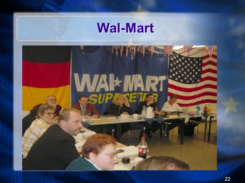 22 Wal-Mart