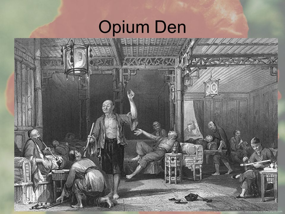 Aim: What were the implications of the Opium Wars Opium Den