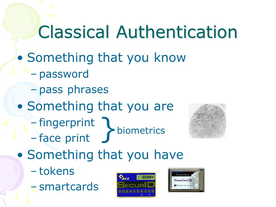 Passwords: What are they good for.