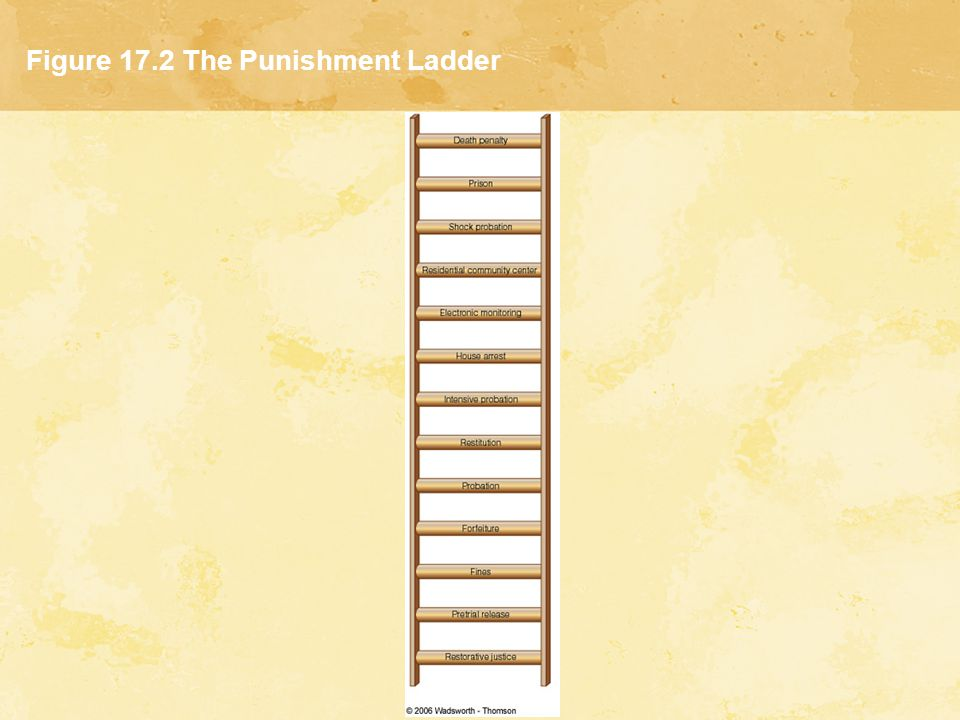 Figure 17.2 The Punishment Ladder