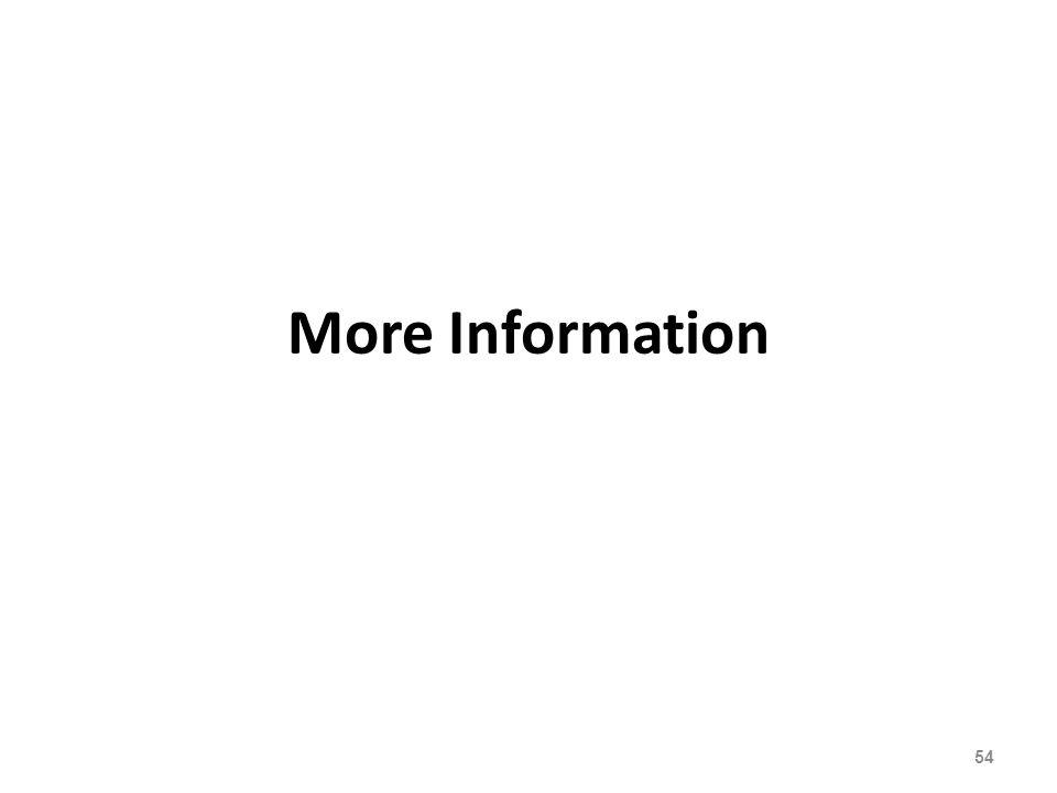 More Information 54