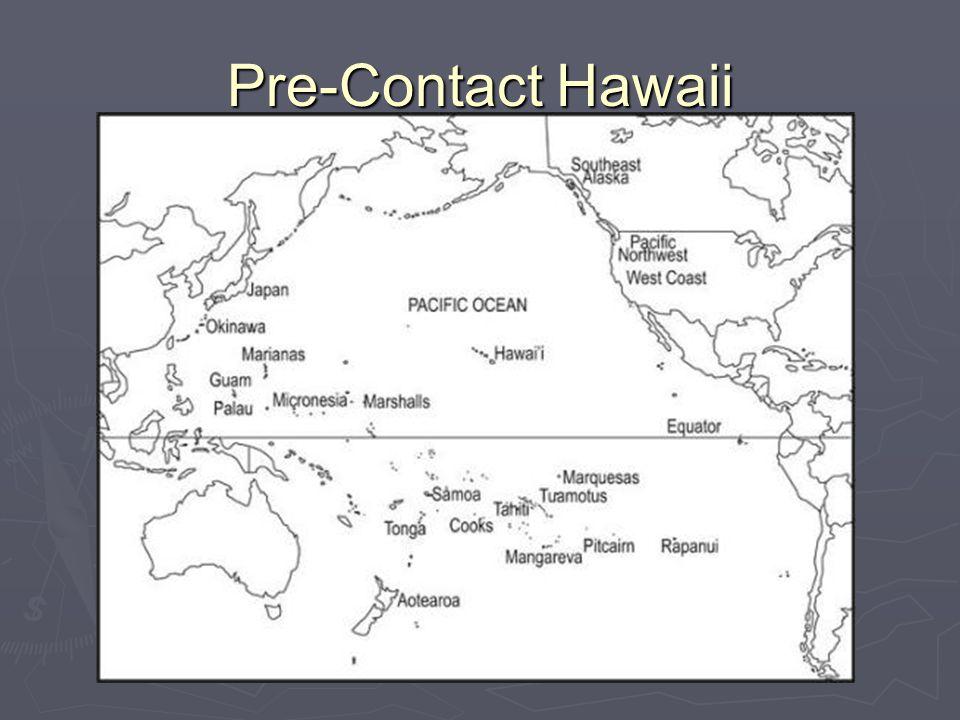 Pre-Contact Hawaii