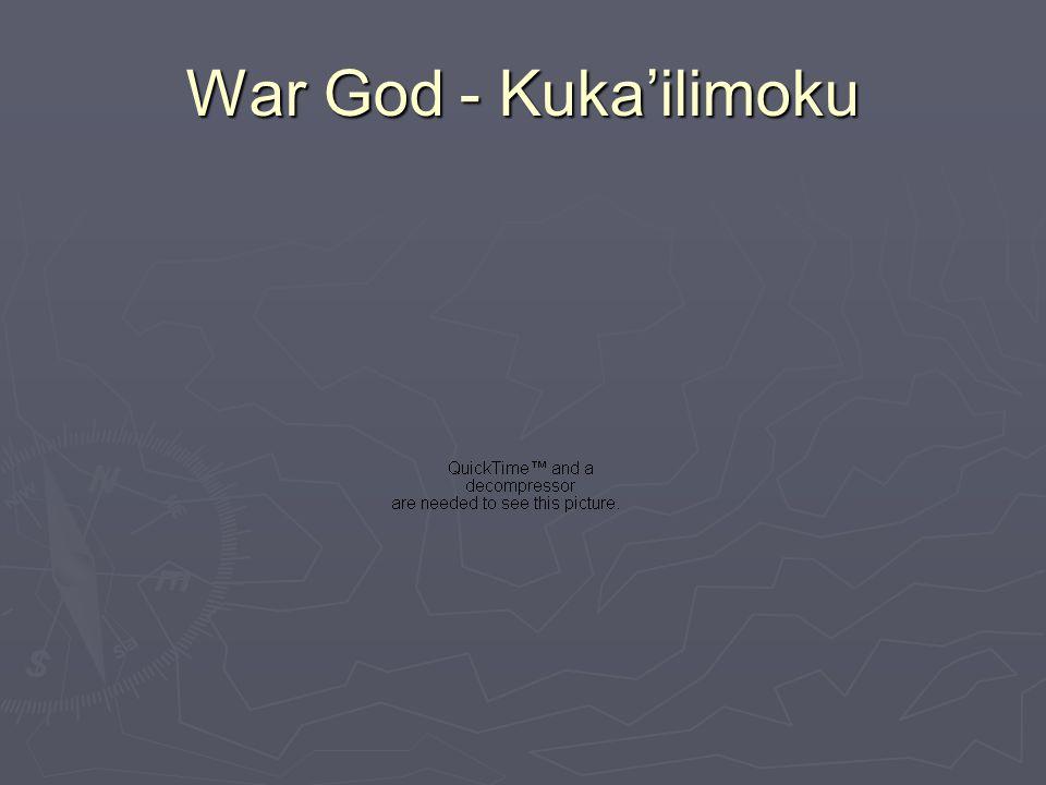 War God - Kuka'ilimoku