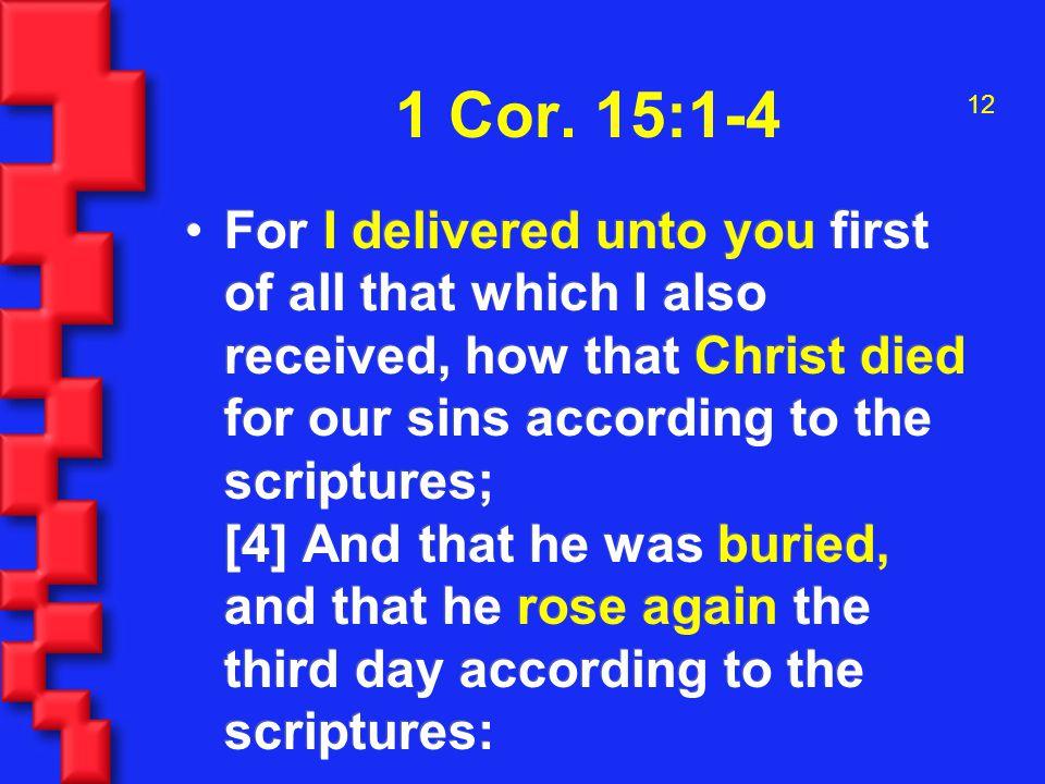 12 1 Cor.