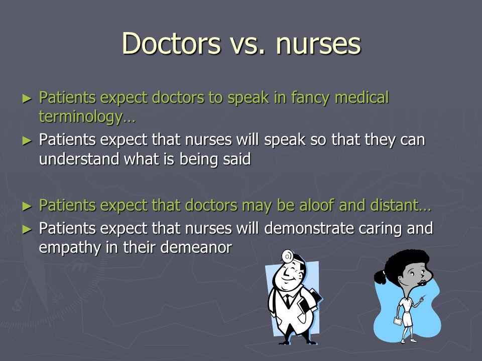 Doctors vs.