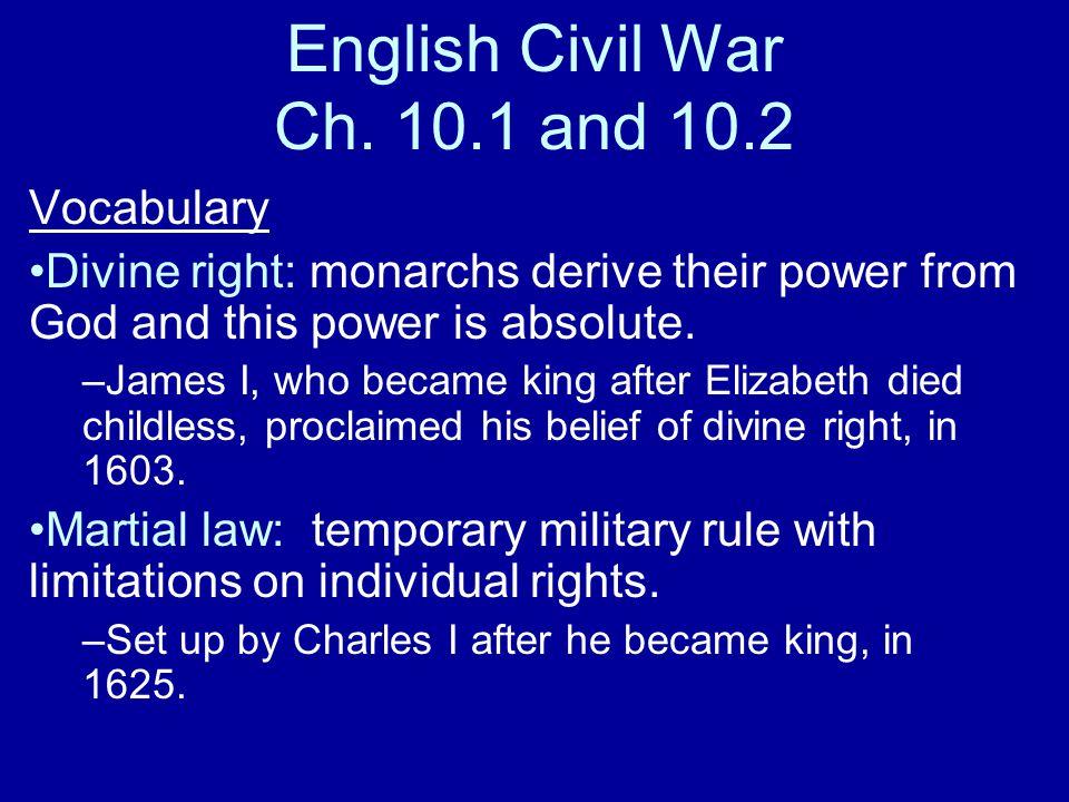 English Civil War Ch.