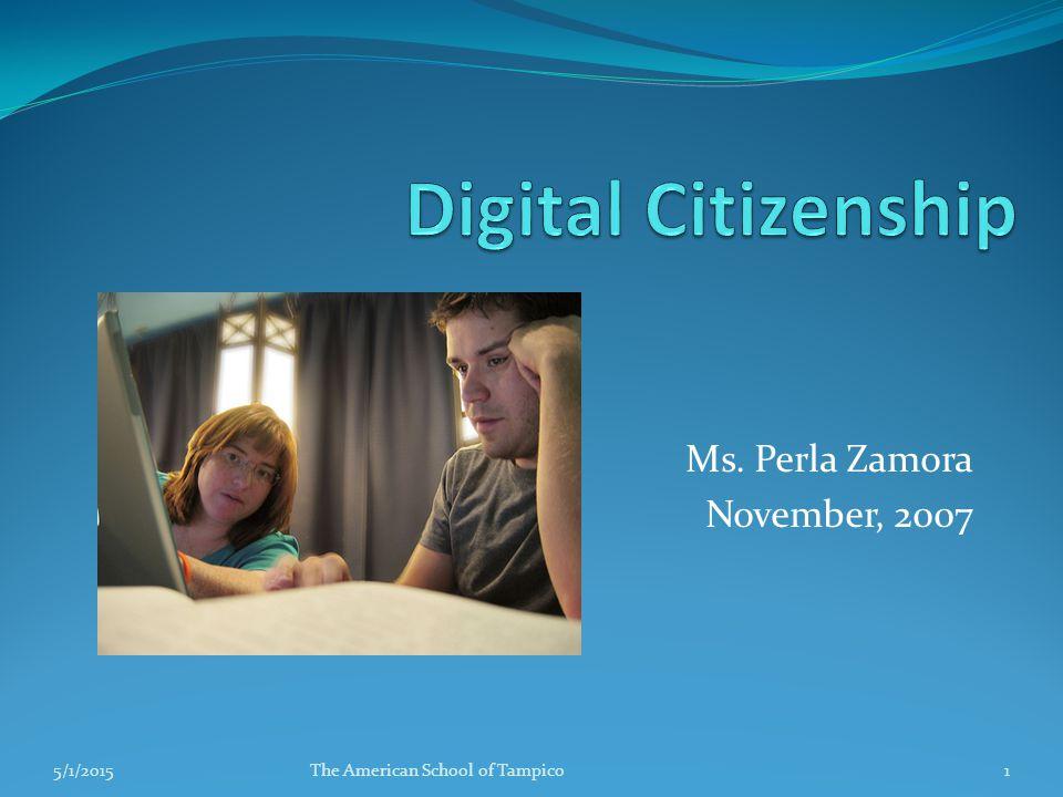 Why Digital Citizenship.