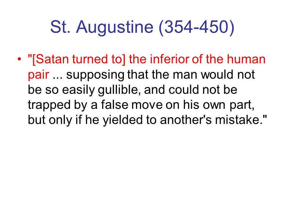 St. Augustine (354-450)