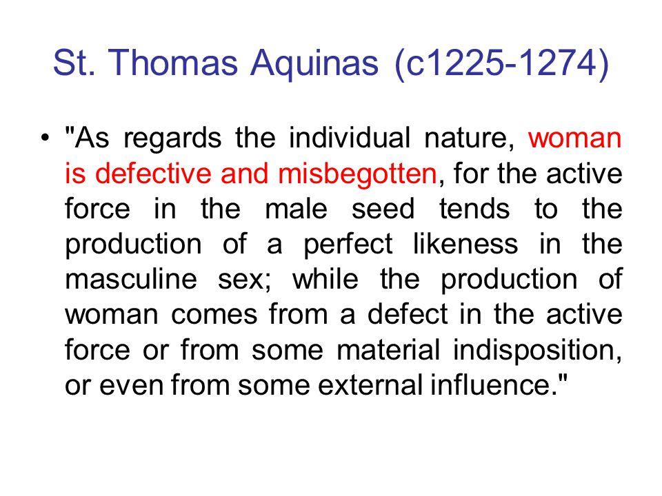 St. Thomas Aquinas (c1225-1274)