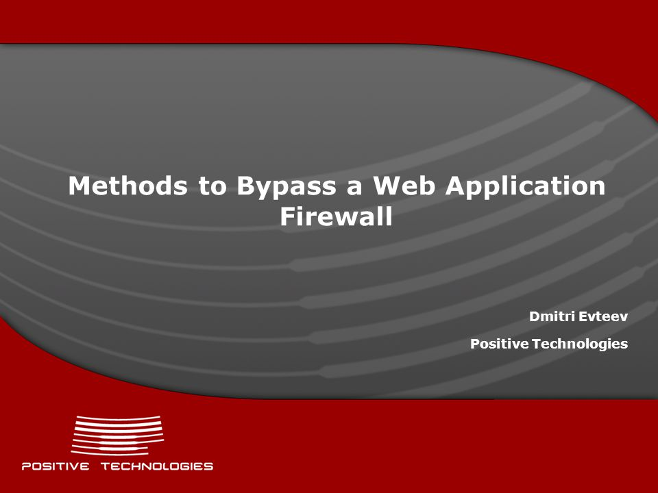 Subjects in Question Unsafe world of web-applications What can save us from the threats Web Application Firewall: what is that and what s it for.