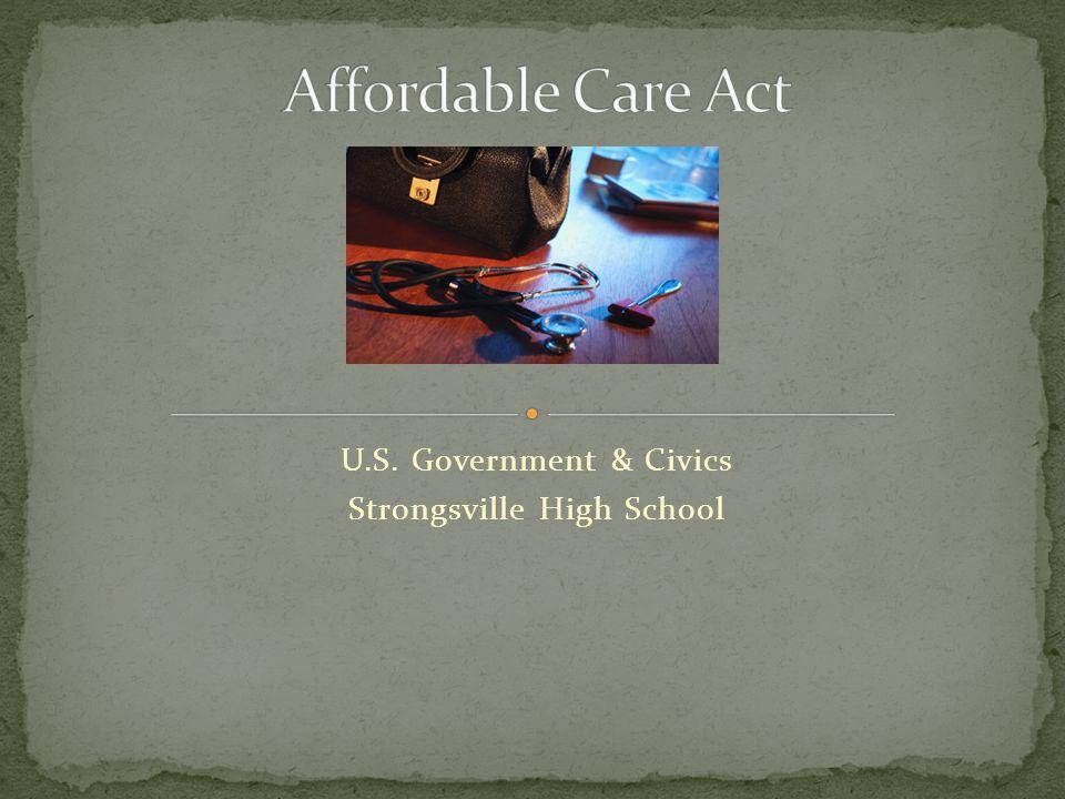 U.S. Government & Civics Strongsville High School