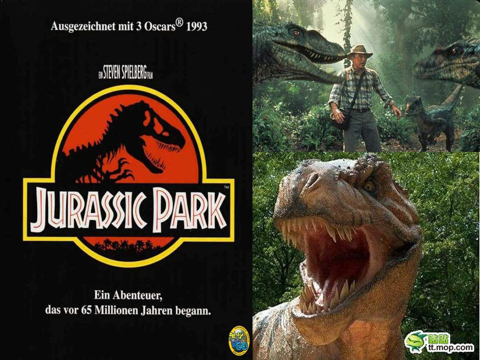 Jurassic Park is a theme park which is populated with ________ dinosaurs.