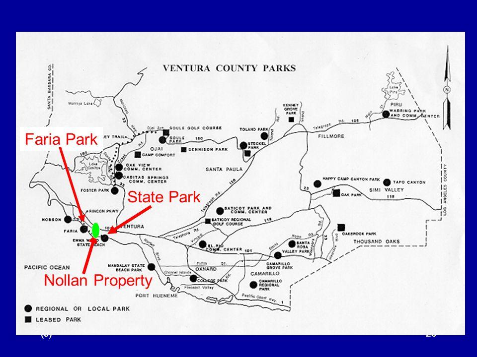 (c)23 Faria Park Nollan Property State Park