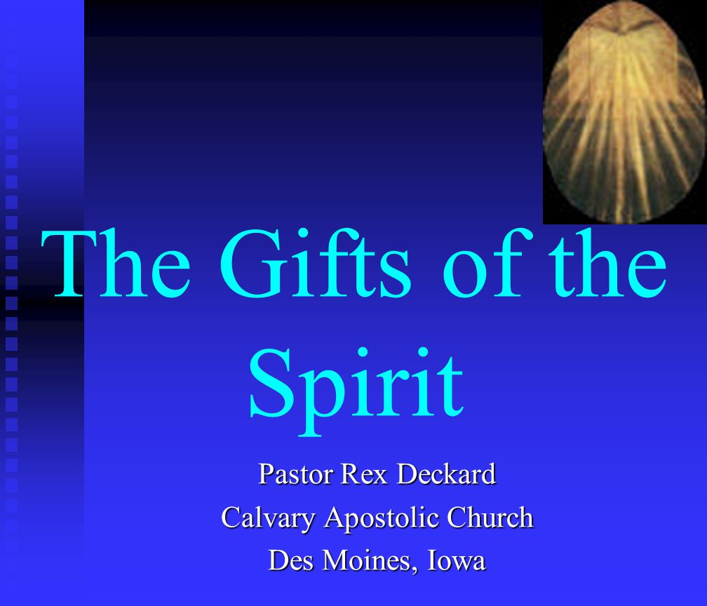 I Corinthians 12:1 Now concerning spiritual gifts, brethren, I would not have you ignorant.